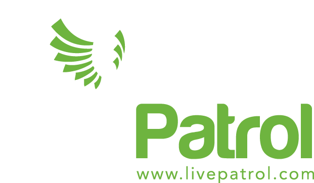Live Patrol remote video security, access management and concierge services logo
