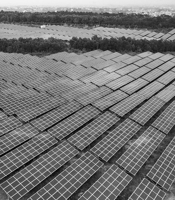 Solar farm monitored by Live Patrol